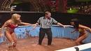 WWF Tori vs Miss Kitty Pudding Pool Match - RAW 1999