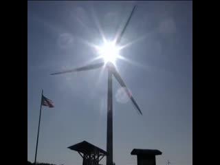 Как работает самая мощная ветряная электростанция на Востоке США