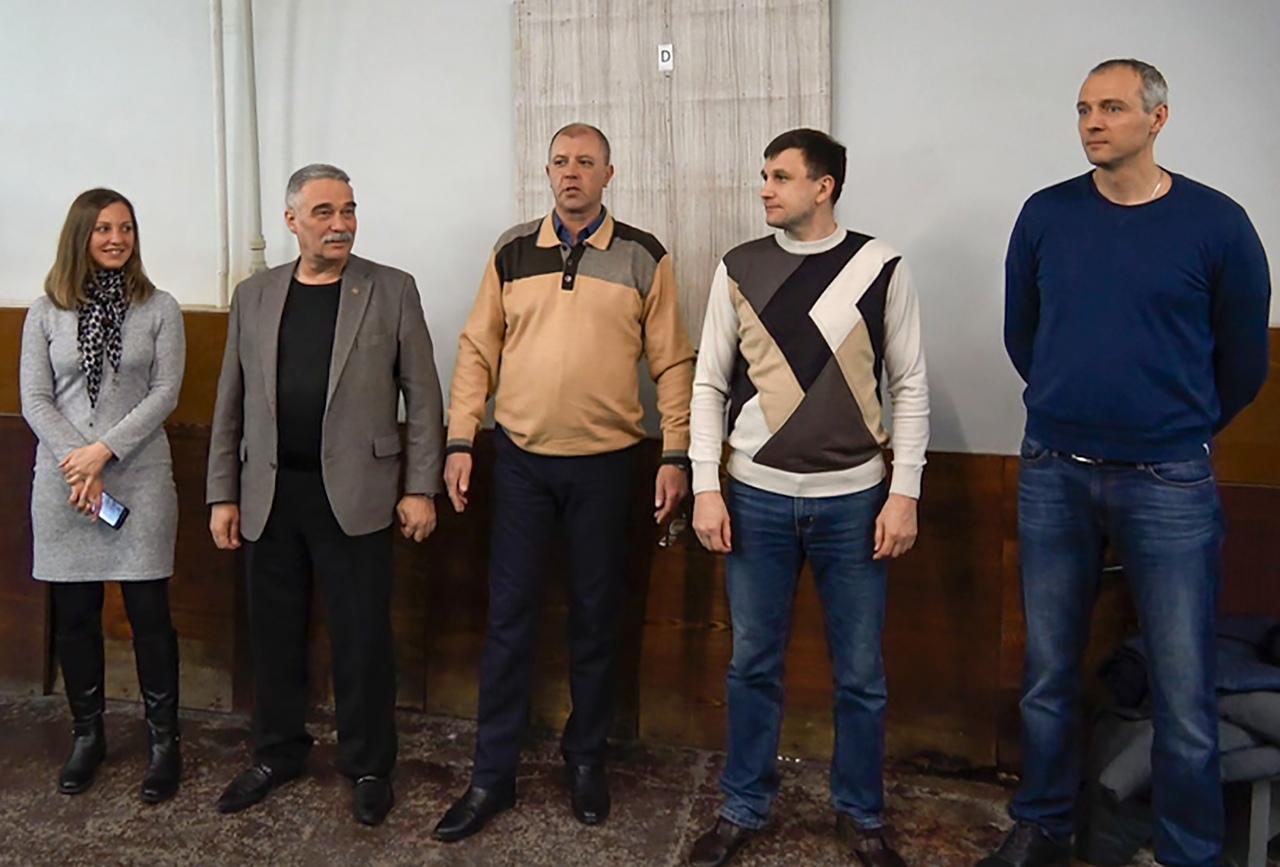 В Донецке прошёл второй этап спартакиады среди сотрудников администрации города и районов Донецка