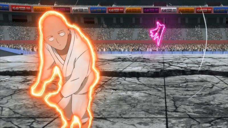 Сайтама Использует Свой Собственной Стиль Боевых Искуств Ванпанчмен