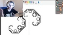 XQc Learns How to Draw Fractals in MS Paint! ft. Moxy