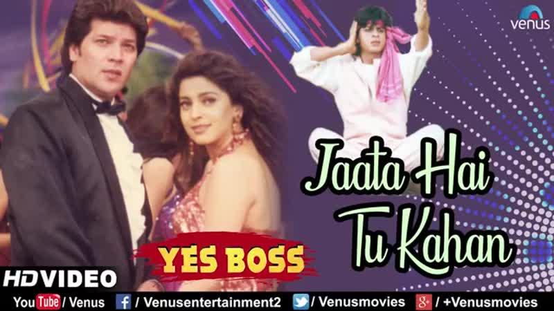 Jaata Hai Tu Kahan Shahrukh Khan Juhi Chawla Yes Boss