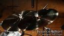 Meinl Cymbals B19MTC-B Byzance 19 Brilliant Medium Thin Crash Cymbal