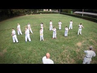 Kyokushin karate motivational training (komló)