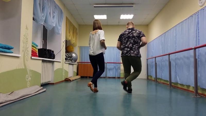 Bachata Moderna Footwork Nada de Nada чуть чуть бачаты Катя Пиир и Илья Вячеславов