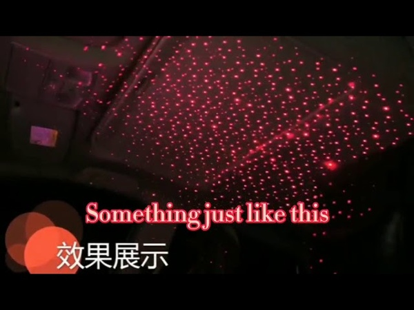 Universal LED Car Roof Star Night Lights Interior Ambient Atmosphere Galaxy Lamp USB Plug Light