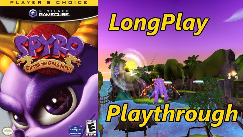 Spyro Enter the Dragonfly Longplay Full Game Walkthrough No Commentary