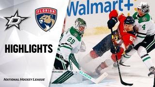 Dallas Stars vs Florida Panthers   , 2021   Game Highlights   NHL 2021   Обзор матча