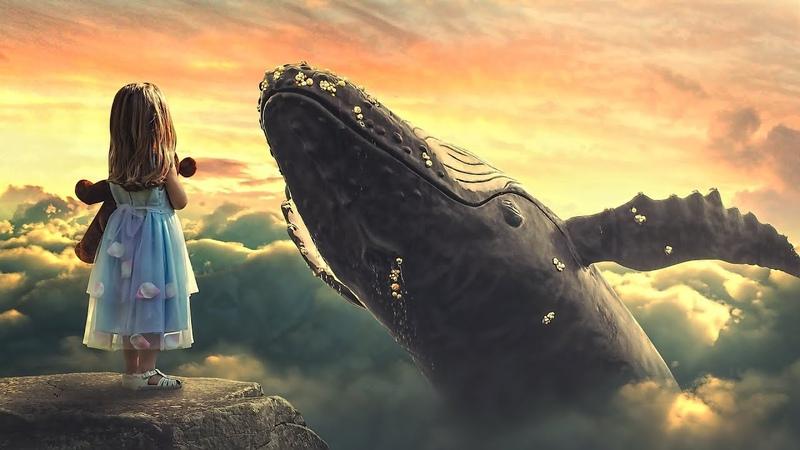 Big Whale Surreal Manipulation Photoshop Tutorial [Sunset Effect]