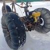 Самодельный снегоход из мотоблока