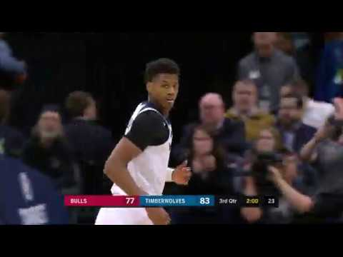Highlights Timberwolves 115 Bulls 108 3 4 20