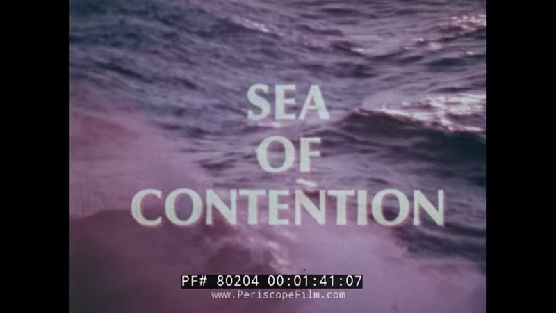 SEA OF CONTENTION U S NAVY SIXTH FLEET IN MEDITERRANEAN SEA VS SOVIETS COLD WAR FILM 80204