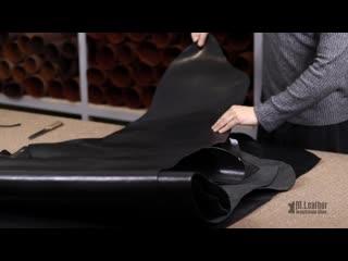 Черная шорно седельная юфть(обзор). натуральная кожа из беларуси