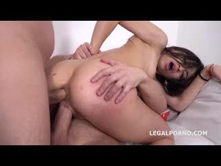 Polina Sweet - Russian, Anal, DP, Skinny, Brunette, Gape, Porn, Порно