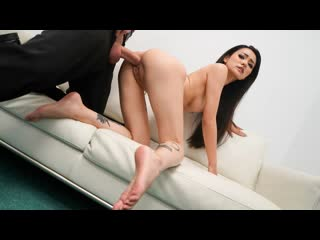 Rae Lil Black - Asian Babe Fucked On The Couch (Cumshot, Facial, Blowjob, Deep Throat, Indoors, Amateur, Tattoo, etite, Asian)