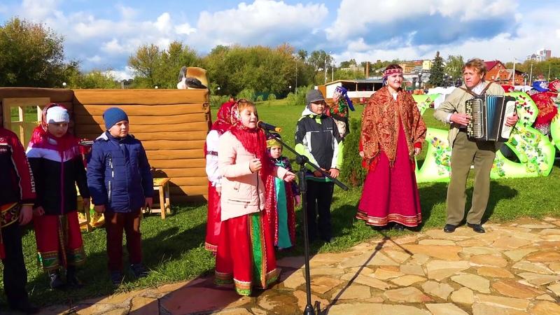 ансамбль Серпуховское подворье на фестивале На стыке трех губерний