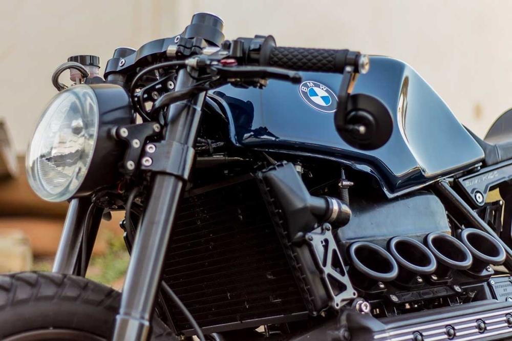 Retrorides: кафе рейсер BMW K100