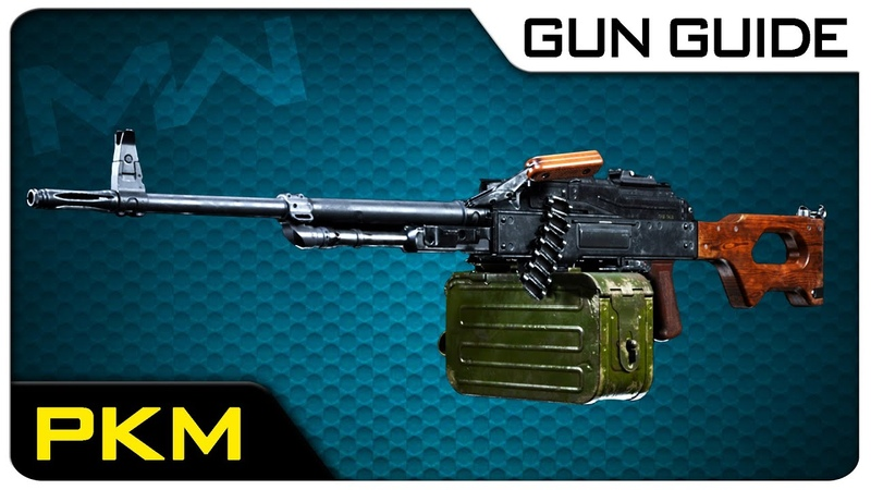 PKM Stats Best Class Setups! | Modern Warfare Gun Guide 6