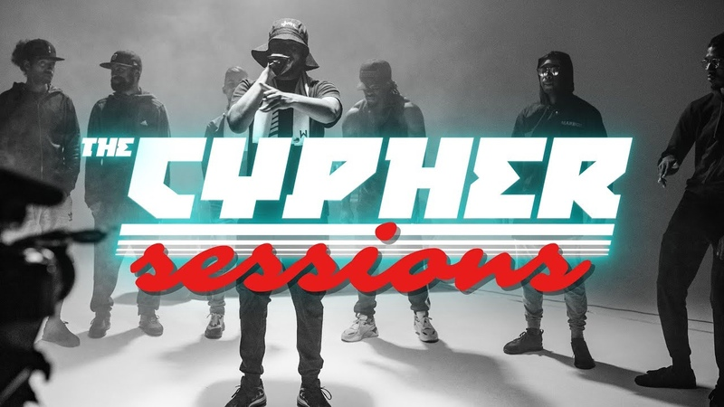 """The Cypher Sessions"""" with Minkles Deezy Tommy B Jammz Logan Scrufizzer and Faithy"""