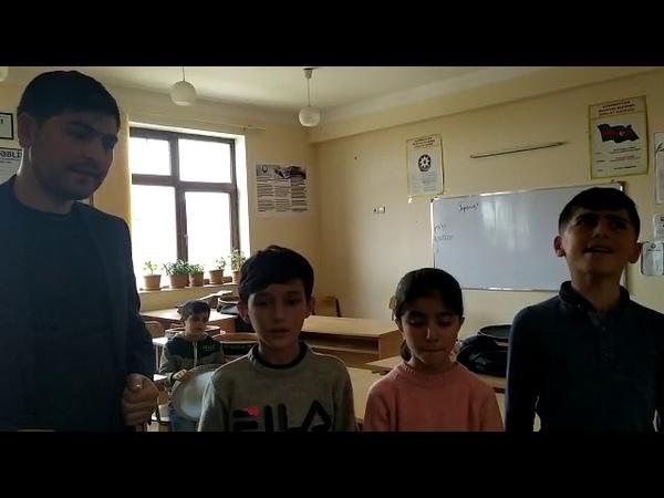 Habil Memmedov ve teleblerinden yeni ifa Samovarin xekesi Agdam rayon Gulabli kend usaq musqi mekteb