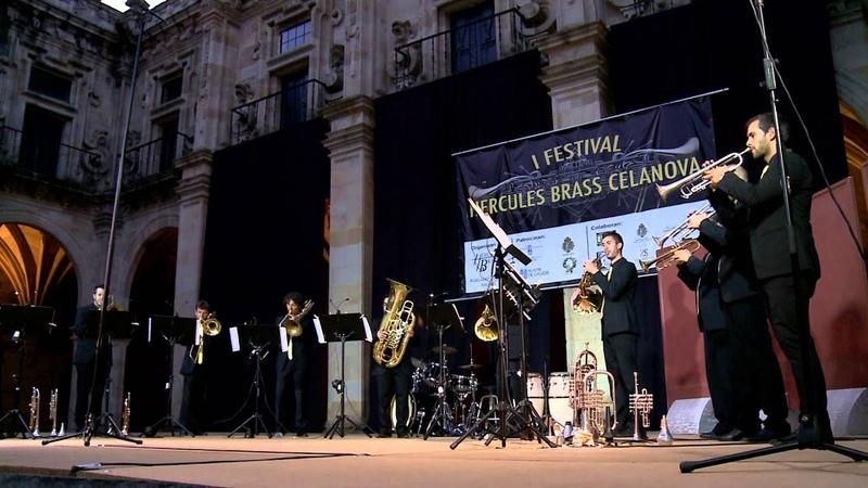 Hércules Brass Ensemble Enrique Crespo