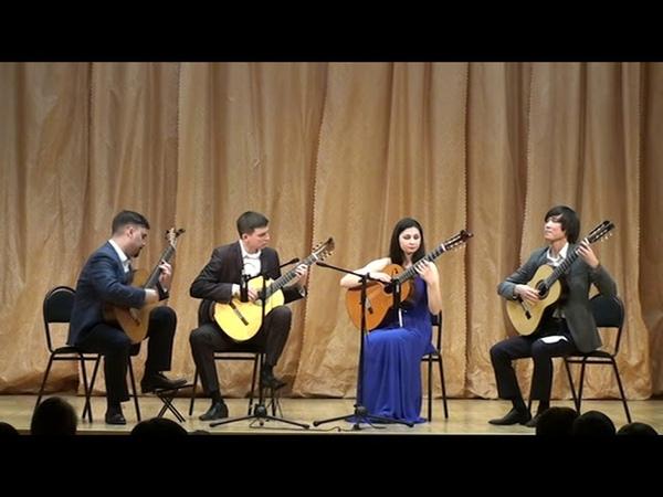 Квартет гитаристов г.Новосибирск (12.02.2019г.) 2 часть