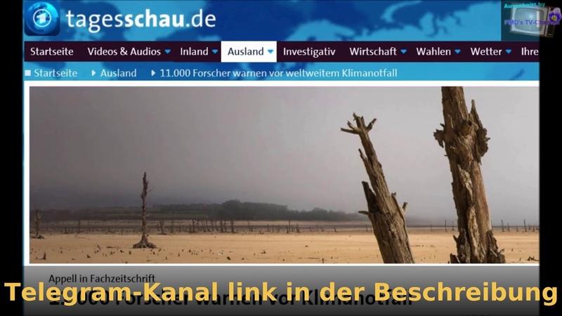 Fake News Supergau 11'000 Wissenschaftler aus 153 Ländern und der Fake Klima Notfall