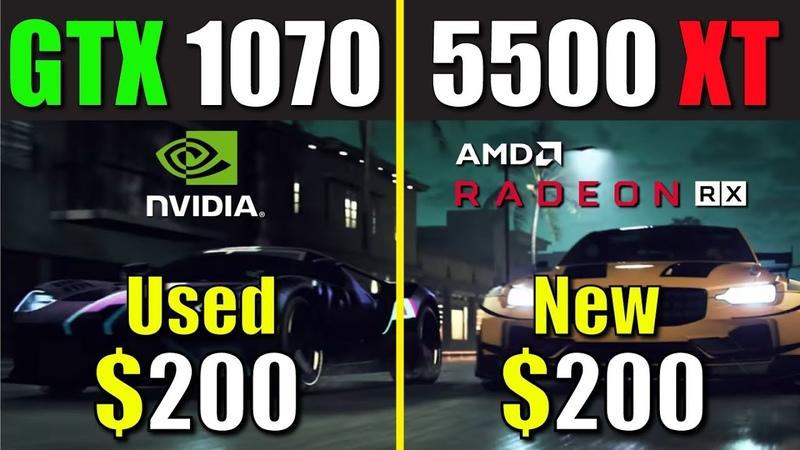 RX 5500 XT vs. GTX 1070 | Test in 8 Games.