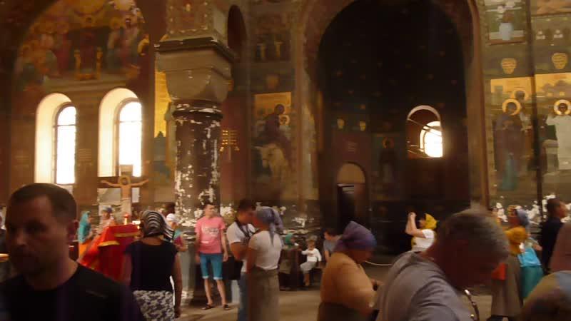 Новоафонский монастырь внутри