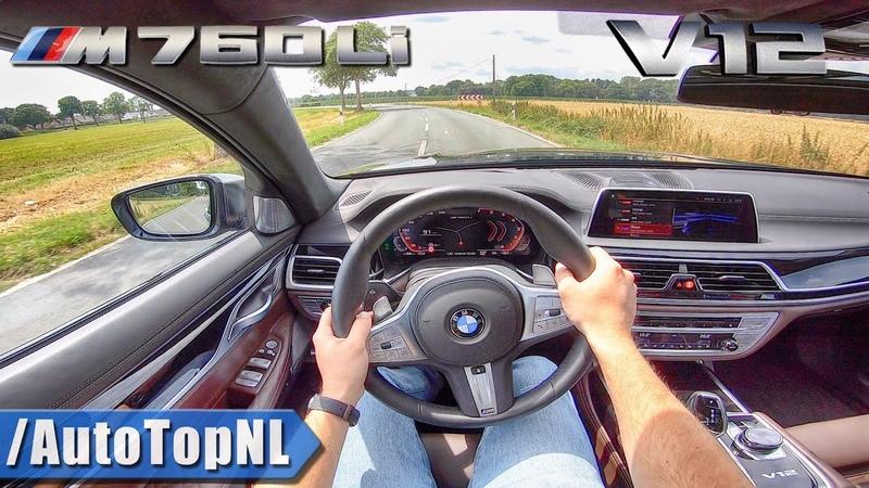 2020 BMW 7 Series M760Li 6.6 V12 BiTurbo POV Test Drive by AutoTopNL