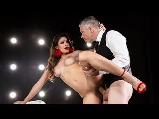 Katana kombat - it takes two to tango (big tis, blowjob, brunette, latina)