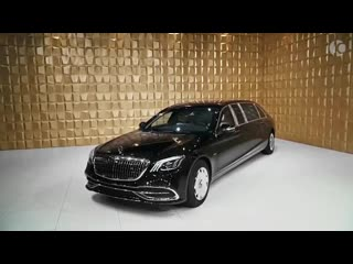 $ mercedes-maybach pullman v12 guard vr9 armoured ultra luxury limousine
