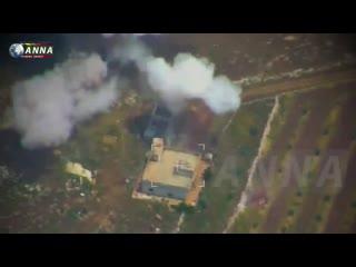 Удары ВКС РФ по бармалеям в Сирии
