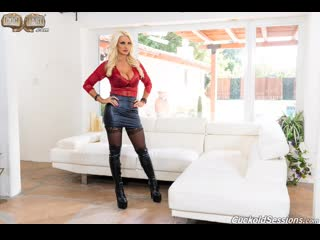 Brittany Andrews - Two Big Black  - Cuckold Sessions [HD 1080p]