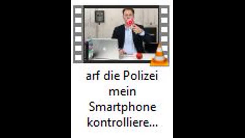 Darf die Polizei mein Smartphone kontrollieren Rechtsanwalt Christian Solmecke