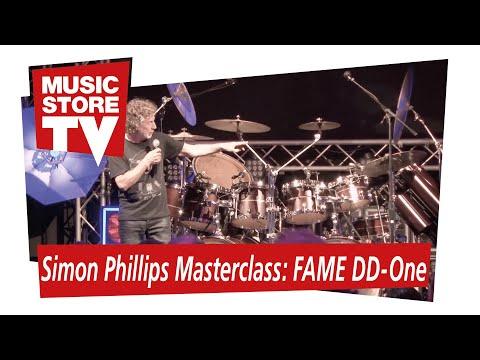 Simon Phillips Masterclass FAME DD-One