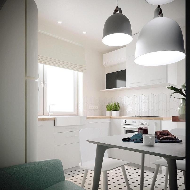5 маленьких кухонь, в которых задействовано все полезное пространство, изображение №1