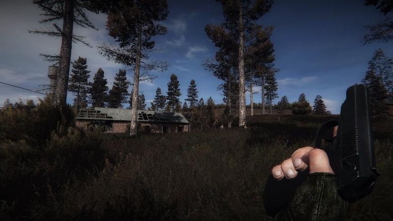 Gameplay Stalker Call of Pripyat Gunslinger Mod Atmosfear 3 Absolute Nature 4 01 HD Models ReShade