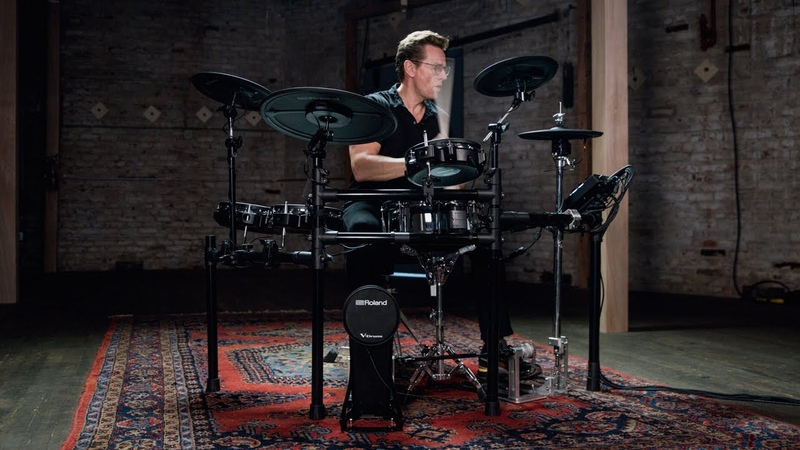 Roland V-Drums TD-27KV Electronic Drum Kit   Overview with Thomas Lang