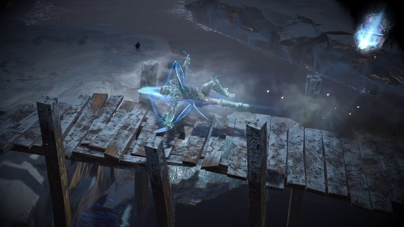 Path of Exile Ice Whirling Blades