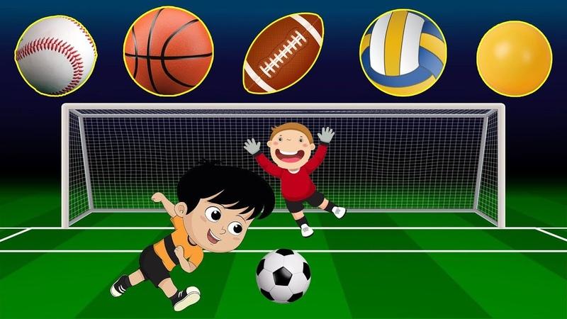 Playing Sport With Ball | Các Môn Thể Thao Chơi Bóng | Bé Học Và Chơi Trên CC Channel