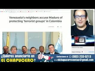Eu dice que venezuela tiene armas nucleares y se alista a bombardear caracas
