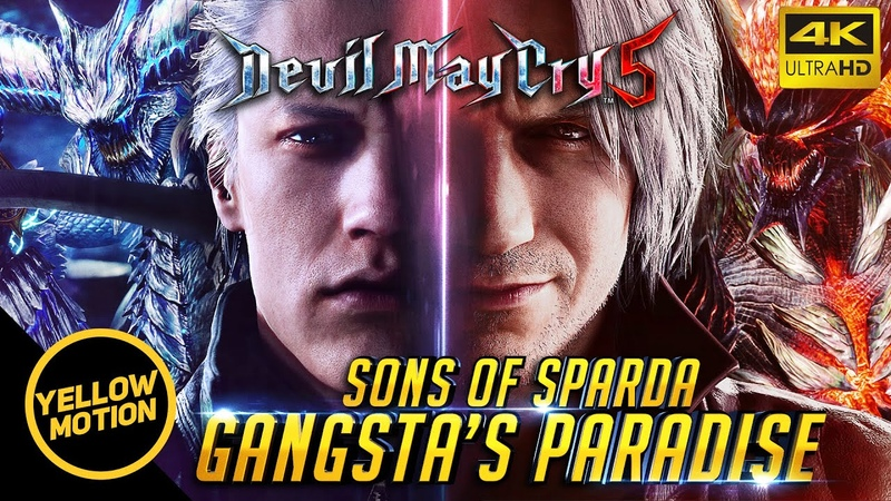 Devil May Cry 5 - Gangsta's Paradise | The Sons of Sparda Cinematic Tribute!