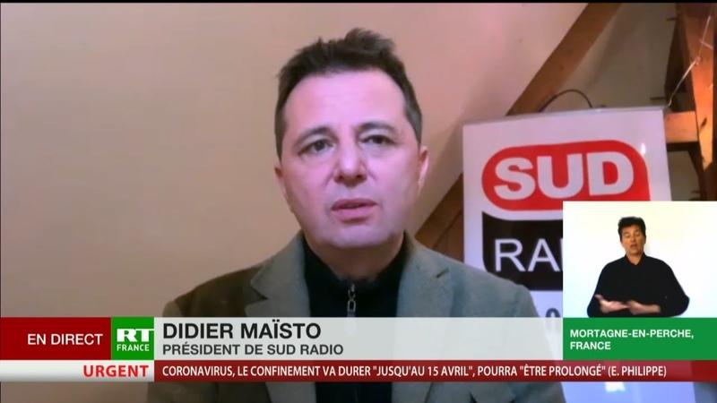 GiletJaunisation de la crise du coronavirus Didier Maïsto scandalisé par les propos de Cohen