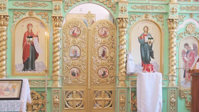1.Освящение храма Казанской Божией Матери в с.Палашкино