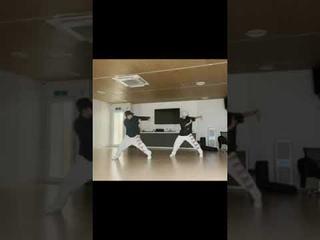 아이돌 연습생 연습로그 Pop Smoke - Shake The Room / Choreography / SANGWON🥀 JIHOON🐣 #shorts