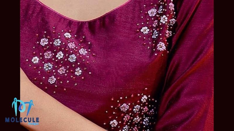 Plain kurti ഉണ്ടെങ്കിൽ ഉറപ്പായും ചെയ്ത് നോക്കൂ ...|easy hand embroide