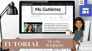 HOW TO create your own Class Website with Google Sites (TIPS & TRICKS)