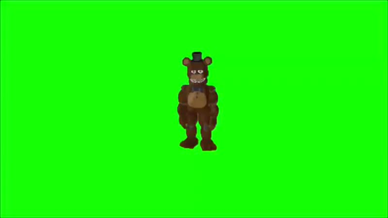 Green Screen Withered Freddy Gangnam Style Five Night at Freddys
