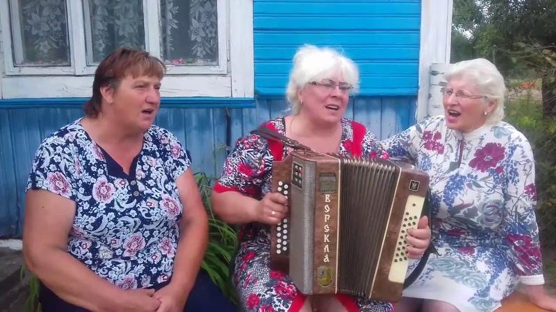Спустилась ночь исп Галина гармонистсамоучка Ольгамоя дорогая сестричкаи моя милая сватья Нина